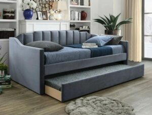 "#5326GY – The ""Menken"" Twin Daybed in Grey"