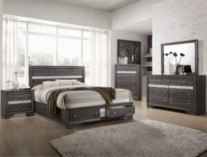 "#B4650 – The ""Regata"" Storage Bedroom in Grey"