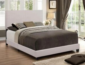 "#5271KH – The ""Erin"" Bed in Khaki Linen"
