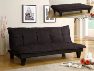 "#5255BK – The ""Margo"" Adjustable Sofa in Black"