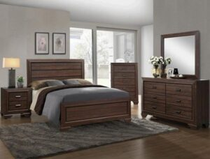 "#B5510 – The ""Farrow"" Bedroom in Chocolate"