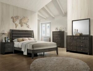 "#B4720 – The ""Evan"" Bedroom in Grey"
