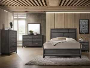 "#B4620 – The ""Akerson"" Bedroom in Grey"