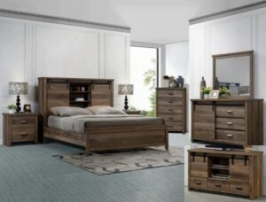 "#B3000 – The ""Calhoun"" Barn Door Bedroom"