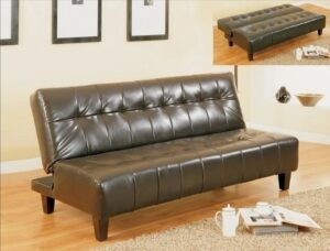 "#5260ESP – The ""Marco"" Adjustable Sofa in Espresso"