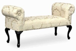 """#4040 – The """"Penelope"""" Bench in Madison Straw"""