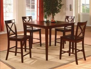 "#2753 – The ""Theodore"" Counter-Height Dining Set"