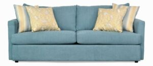 """#9100 – The """"Mckenzie"""" Sofa Set in Zenith 602/Bedell Tiffany/Clooney Golden"""