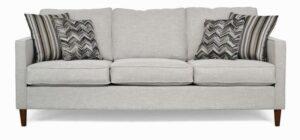 "#8500 – The ""Ivy"" Sofa Set in Paradigm Mineral/Vallace Graphite/Bargello Graphite"