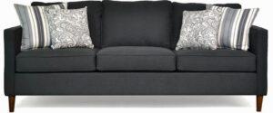 """#8500 – The """"Ivy"""" Sofa Set in Flanders Onyx/Classy Ebony/Lizbeth Graphite"""