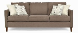 "#8500 – The ""Ivy"" Sofa Set in Paradigm Cafe/Greymere Flax/Amore Onyx"