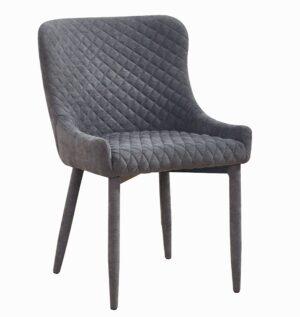 """The """"Draco"""" Chair in Navy Velvet"""