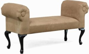 "#4040 – The ""Penelope"" Bench in Bulldozer Mocha"