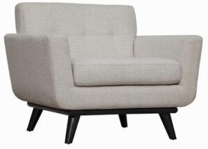 """The """"James"""" Chair in Beige Linen"""