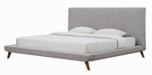 """The """"Nixon"""" Bed Frame in Beige Linen"""