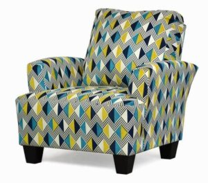 "#545 – ""Madison"" Accent Chair in Venture Navy"