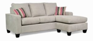 """#2800 – The """"Audrey"""" Sectional in Zenith 806/Boho Blush"""