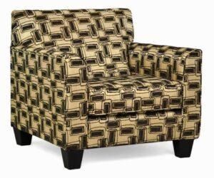 "#900 – ""Sara"" Accent Chair in Eider Onyx"