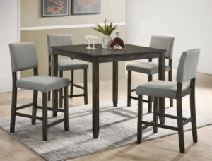 "#2708 – The ""Derick"" Counter-Height Dining Set"