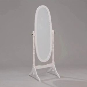 #2069 – The Cheval Mirror in White