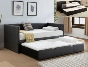 "#5320 – The ""Sadie"" Twin Daybed in Brown"