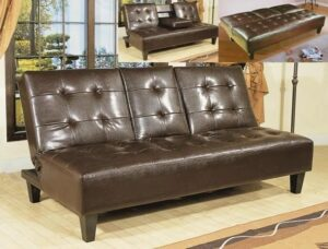 "#5280ESP – The ""Bennett"" Adjustable Sofa in Espresso"