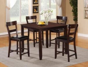 "#2754 – The ""Henderson"" Counter-Height Dining Set in Espresso"