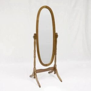 #2068 – The Cheval Mirror in Oak