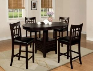 "#2795 – The ""Hartwell"" Counter-Height Dining Set in Espresso"
