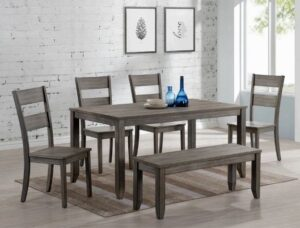 "#1131 – The ""Sean"" Dining Set with Bench"