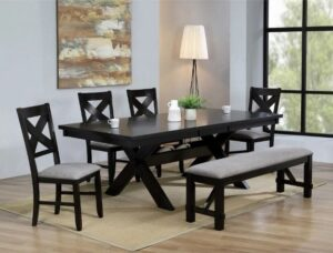 "#2335 – The ""Havana"" Dining Set with Bench"
