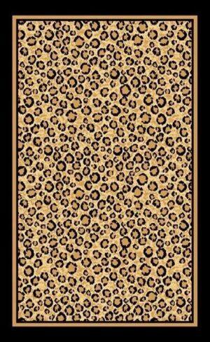 """Leopard"" Rug, 6′ x 8′"