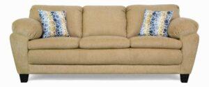 "#5550 – The ""Brooklyn"" Sofa Set in Due Tan/Obscurity Fresco"