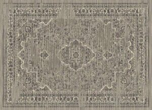 """""""Hudson 1093"""" Rug in Ash, Available in Two Sizes"""