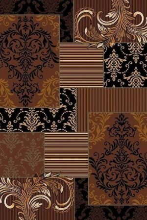 """Trendz 867"" Rug in Chocolate, 6′ x 8′"