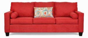 "#1260 – The ""Delilah"" Sofa Set in Zenith 202/Freefall Crayola"