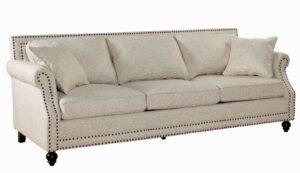 """The """"Camden"""" Sofa in Beige Linen"""