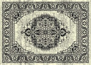 """""""Ibiza 180"""" Rug in Bone Ivory, Available in Two Sizes"""