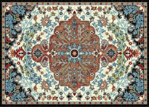 """""""Ibiza 183"""" Rug in Cream, Available in Two Sizes"""