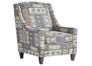 """#1500C – The """"Tupper Flannel"""" Accent Chair"""