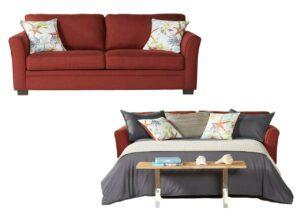 """#18500 – The """"Grande Chili Pepper"""" Sleeper Sofa"""