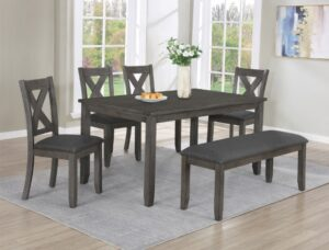 "#2323 – The ""Favella"" Dining Set with Bench"