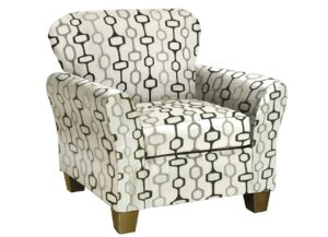 """#3010 – The """"Handcuff Trace"""" Accent Chair"""