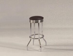 "#3904 – The ""Retro"" Swivel Bar Stool – Set of 2"