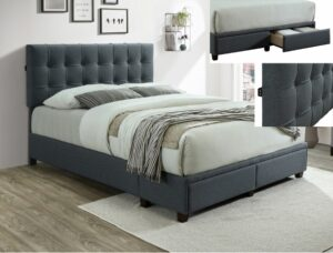 "#5105 – The ""Antoine"" Platform Storage Bed"