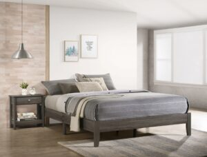 "#5109GY – The ""Skyler"" Platform Bed"