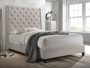 "#5265IV – The ""Chantilly"" Bed in Ivory"