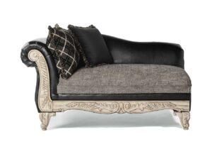 "#7925 – The ""San Marino Ebony"" Accent Chaise"