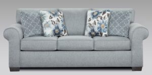 "#AF3444DS – The ""Sleeper"" Sofa in Dryden Steel"