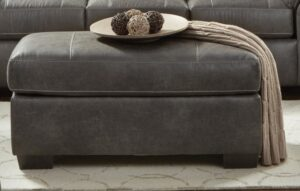"#AF5605 – The ""Sequoia Ash"" Ottoman"